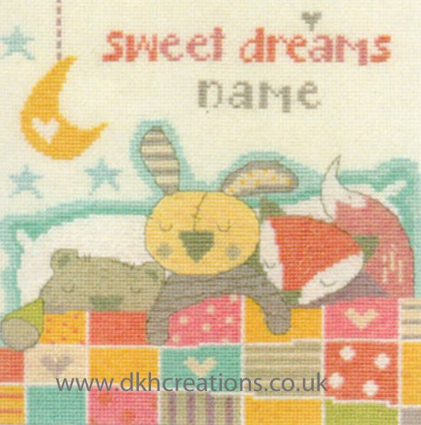 Sweet Dreams Sampler Cross Stitch Kit
